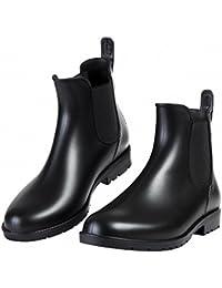 レディース&メンズ レインブーツ ショートブーツ カジュアル 防水 雨靴 滑り止め サイドゴア 軽量 歩きやすい レインシューズ 梅雨対策(22.0cm~26.5cm)