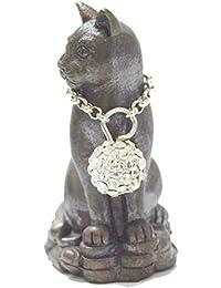 Lucky Cat Magic Amulets nong Maew Riak SAP ( Treasure Calling Cat ) Luang Phuu kaambuu