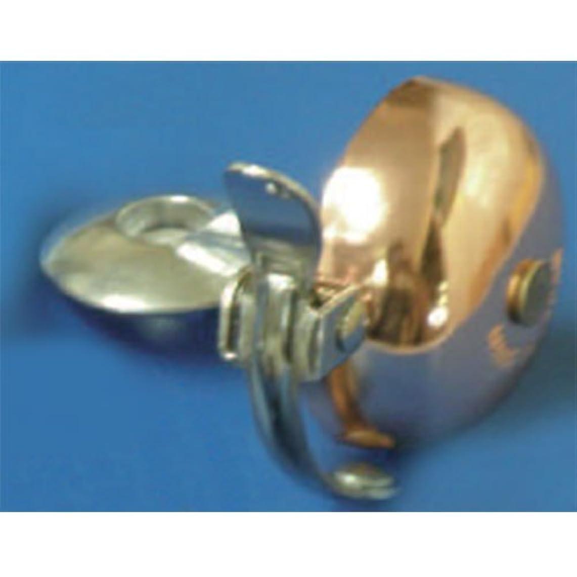 ストレッチ発揮するブローオウギ アヘッドキャップベル ゴングタイプ 真鍮 カッパー(015089)