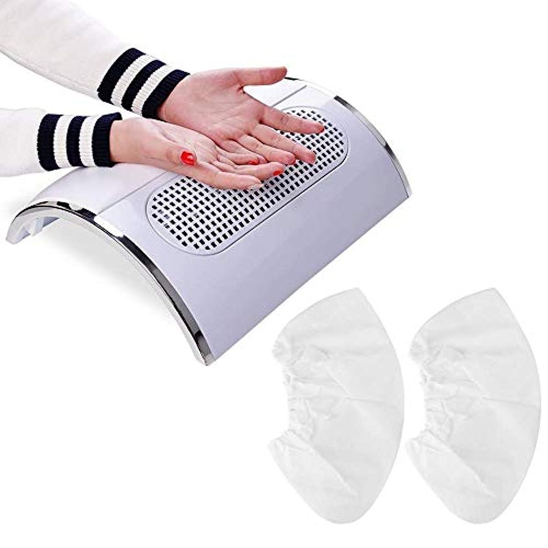 愛マトロン分類するBiutee メタリックホワイト ネイルダスト 集塵機 ダストクリーナー ジェルネイル ネイル機器
