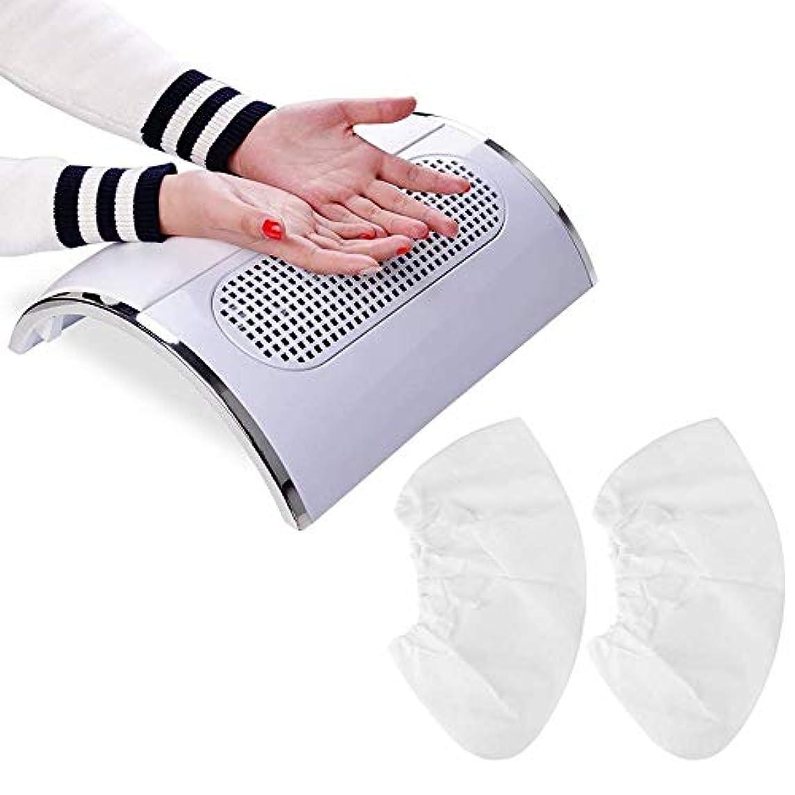 屋内女将偽善Biutee メタリックホワイト ネイルダスト 集塵機 ダストクリーナー ジェルネイル ネイル機器
