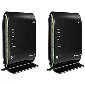 NEC 11ac対応 無線LANルーター(1733+450Mbps)(イーサネットコンバータセット) PA-WG2200HP/E