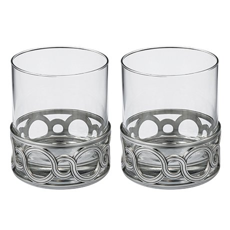 ロイヤルセランゴール ウイスキー グラス ペア セット メダリ...