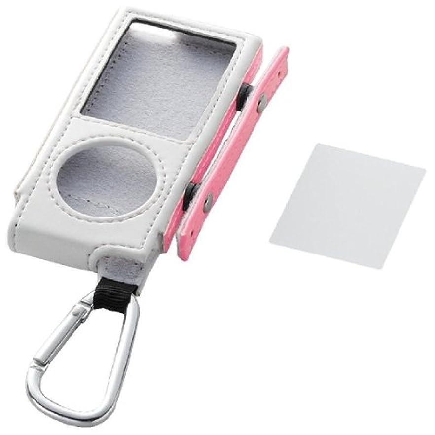 無視保護する聖職者ELECOM iPod 4th nano/レザーケース/ピンク AVD-LCRA4NPN