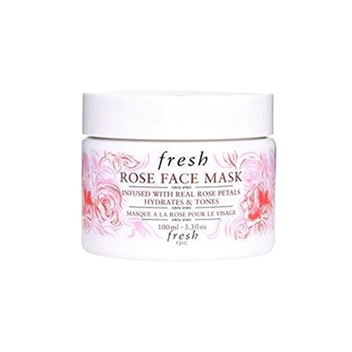 明確なコンデンサー意気揚々Fresh (フレッシュ) 15周年記念限定版 Rose Face Mask ローズフェイスマスク-, 100ml /3.3 fl.oz [並行輸入品] [海外直送品]