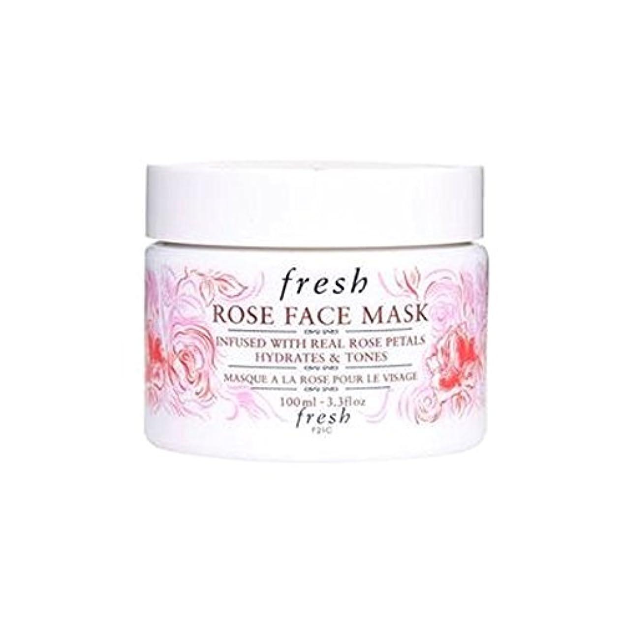 展開する予見するマンハッタンFresh (フレッシュ) 15周年記念限定版 Rose Face Mask ローズフェイスマスク-, 100ml /3.3 fl.oz [並行輸入品] [海外直送品]