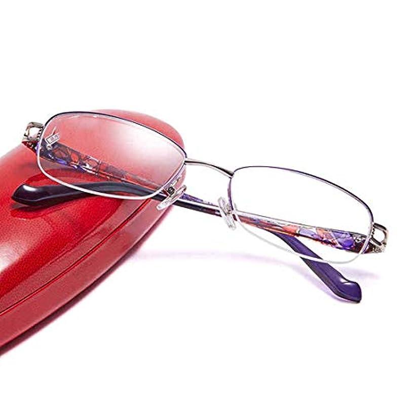 元気後ろ、背後、背面(部統計的コンフォートHd老眼鏡、時代を超越した外観、クリスタルクリアなビジョン、ハーフフレーム老眼鏡、女性と男性用