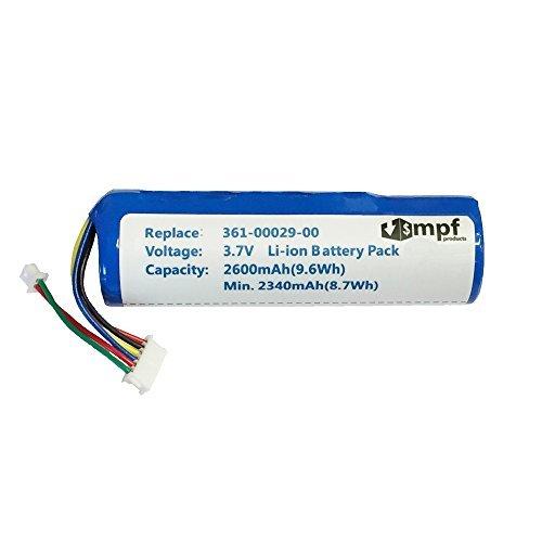 2600mAh High Capacity Extended 010-10806-01 010-10806-20 361-00029-00 361-00029-01 Battery for Garmin Astro DC20 DC30 DC40 GPS Dog Tracking Collar Transmitter [並行輸入品]