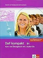 DaF Kompakt in 3 Banden: Kurs- und Arbeitsbuch B1 mit 2 Audio-CDs by Leonhard Thoma(2011-05-01)