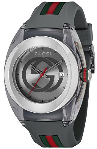 [グッチ]GUCCI 腕時計 グッチシンク グレー文字盤 Y...