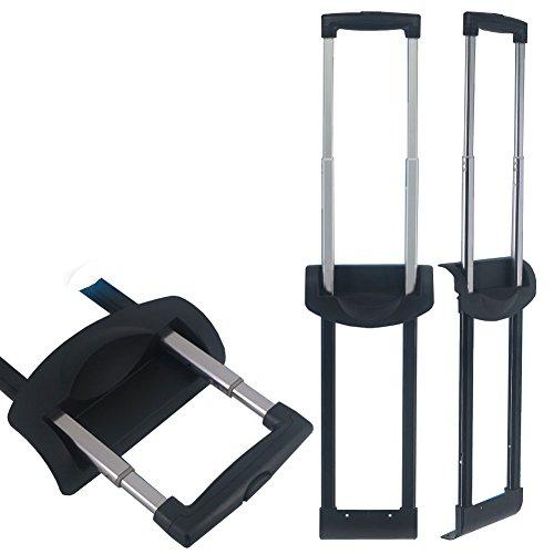 崇明 スーツケース ハンドル 修理 部品 代用品 キャリーバッグ 取り替え伸縮ロッド 旅行ラゲッジのパーツ キャリーバッグ 交換 DIY 072# (18 inch)