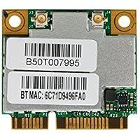802.11ac 867Mbps対応 Broadcom BCM94352HMB BCM4352 802.11a/b/g/n/ac WLAN + Bluetooth 4.0 PCI-E Mini half 無線LANカード