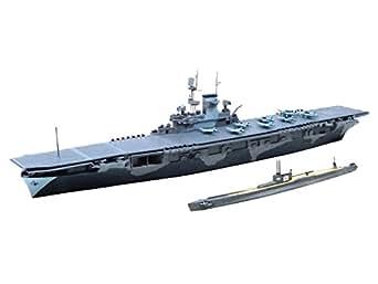 1/700 ウォーターラインシリーズ WASP (ワスプ)&潜水艦 伊-19 プラモデル