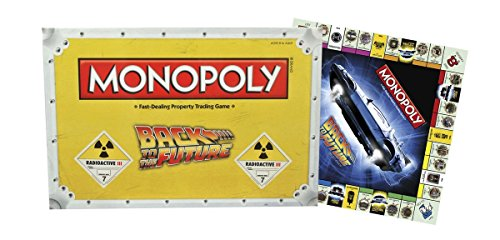Back to the Future Monopoly Board Game BTTF モノポリーゲーム [並行輸入品]