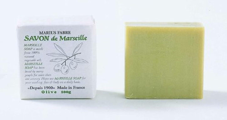 絶対の離れた有用サボン ド マルセイユ オリーブ 100g