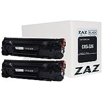 (2本セット) ZAZ CRG-326  キャノン 互換 トナーカートリッジ  (トナー 326) CANON レーザープリンタ 対応機種: LBP6200 LBP6230 LBP6240 (LBP-6200 LBP-6230 LBP-6240)( 汎用トナー ・ 互換トナー ) ZAZオリジナル FFPパッケージ(326-2)