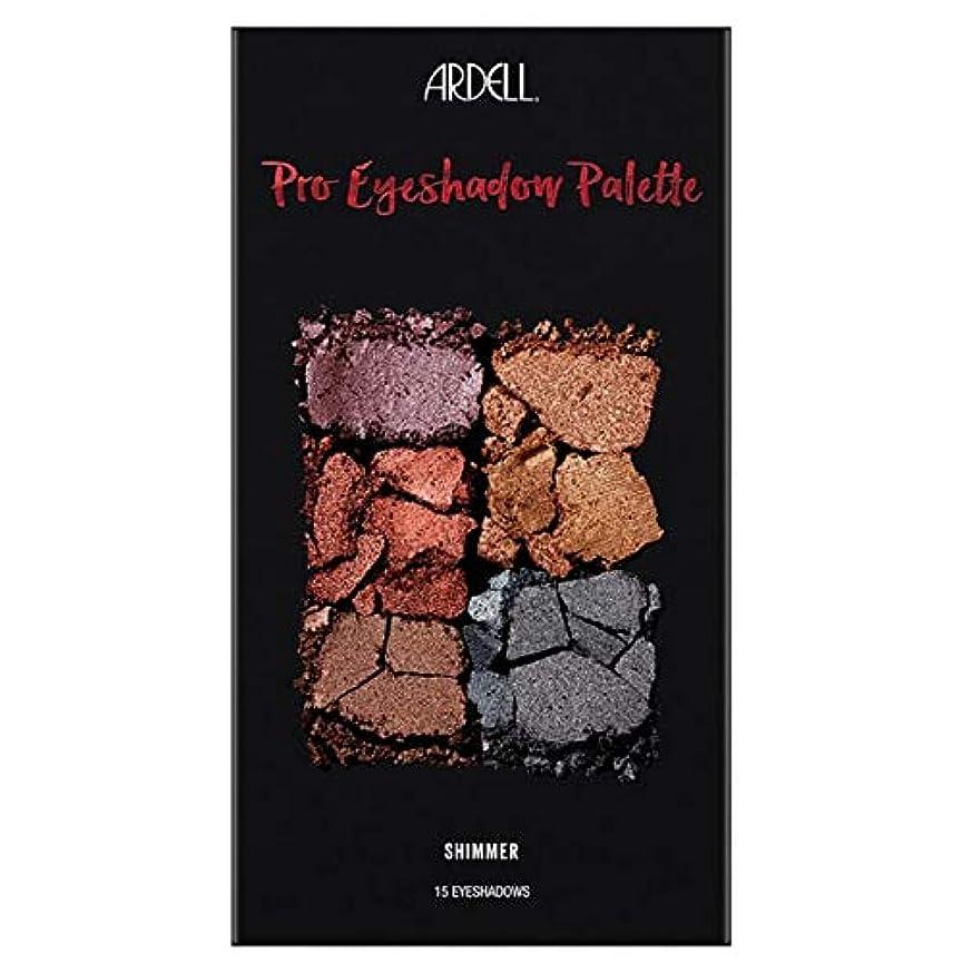 散髪中級リンス[Ardell] Ardell美のプロアイシャドウパレットきらめき - Ardell Beauty Pro Eyeshadow Palette Shimmer [並行輸入品]