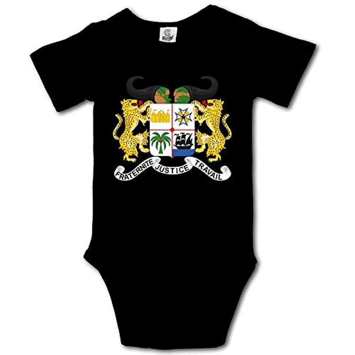 知覚するホイッスル道徳のベニンの国章カジュアル新生児0-24ヶ月ベビークライミング服ベビークリーパー用トローティ