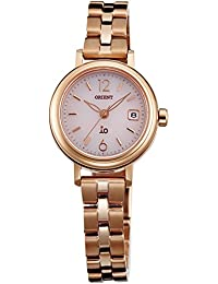 [オリエント]ORIENT 腕時計 iO イオ NATURAL&PLAIN ソーラー WI0011WG ピンク WI0011WG レディース