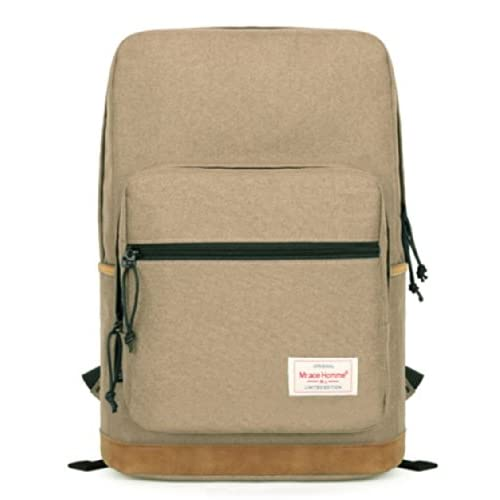 Mr.ace Homme<simple series 33>大人気おしゃれ多用途配色バックパックbackpack鞄-旅行 通勤 通学 登山 中容量の収納 パソコンバッグ(16L)