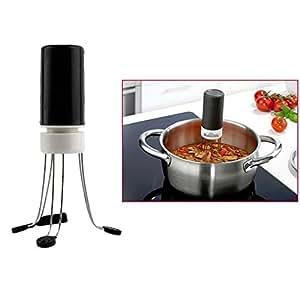 1 ピース ホット 3速コードレス炒め クレイ ジー ミキサー自動ハンズフリー調理器具食品醤油自動攪拌機ブレンダー