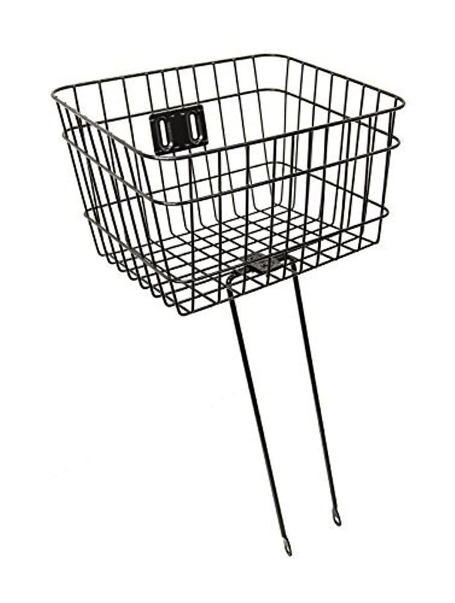腐敗したベギン踊り子Firmstrong Wire Metal Bicycle Basket Black [並行輸入品]