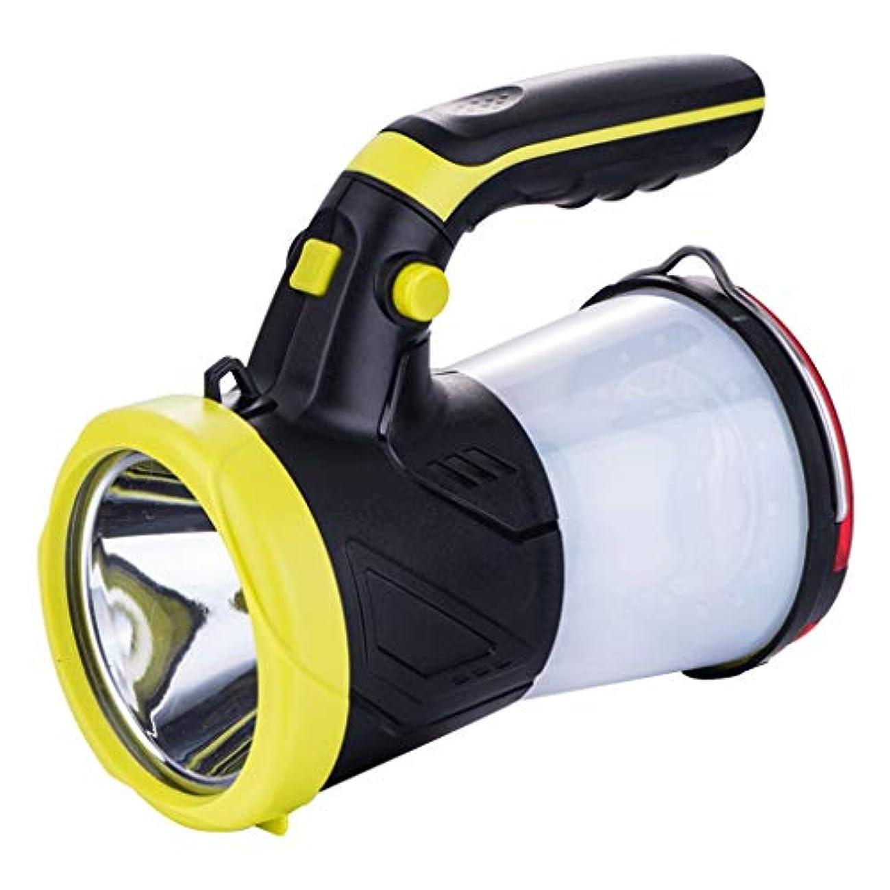 熱帯のむしろ限られたContinuous 釣りライト、キセノン懐中電灯LEDサーチライトナイトランプ緊急充電超軽量ポータブル屋外ランタン Long service life (色 : 10W)