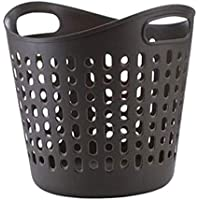 ZZHF xiyilan ランドリーバスケットランドリーバスケットおもちゃの収納バスケット汚い服の収納バケツ収納バスケット バスケット (色 : 黒)