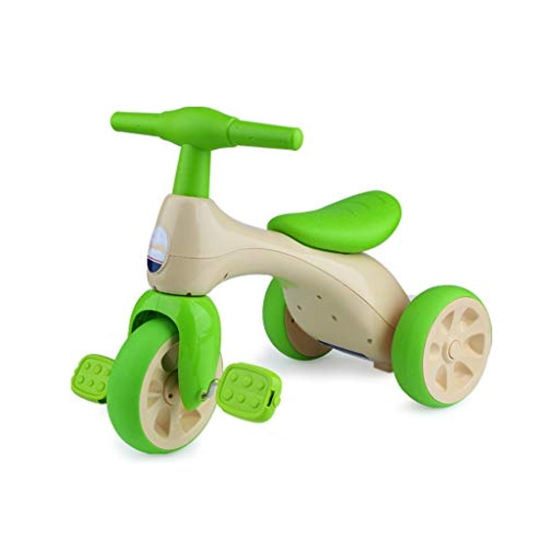 LIUFS-toys 子供用 自転車 1~3歳の赤ちゃん用おもちゃ (色: グラスグリーン)