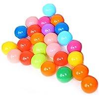 Gowind66 ベビーキッドスイムピット玩具のための25pcsカラフルなボールおかしいソフトプラスチックオーシャンボール