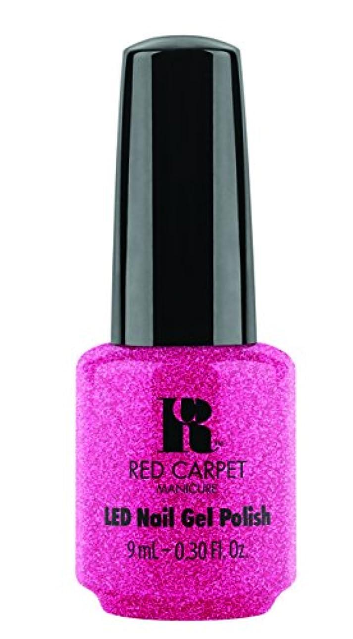 豚と遊ぶ最大Red Carpet Manicure - LED Nail Gel Polish - Camera Flash - 0.3oz / 9ml