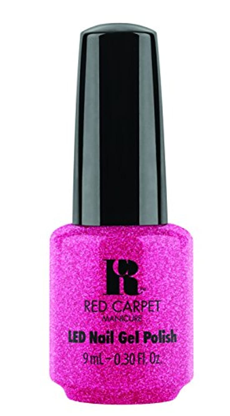 毛布機械的に発行するRed Carpet Manicure - LED Nail Gel Polish - Camera Flash - 0.3oz / 9ml