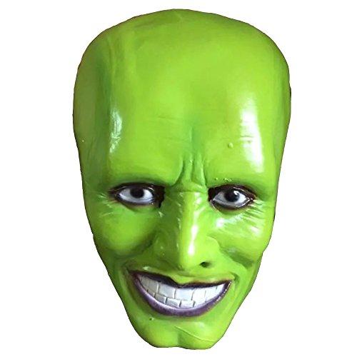 パフォーマンスのcosヘッドギアマスク変装はハロウィーンホラー映画のテーマラテックス悪魔のマスクの小道具