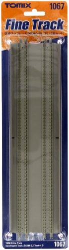TOMIX Nゲージ 1067 複線スラブレール DS280-SL (F) (2本セット)