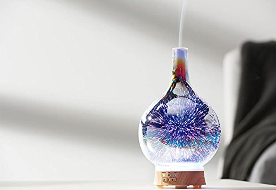 確かめる月ピストンSharper Image 3-D Ultrasonic Aromatherapy Diffuser-Vase 141[並行輸入]