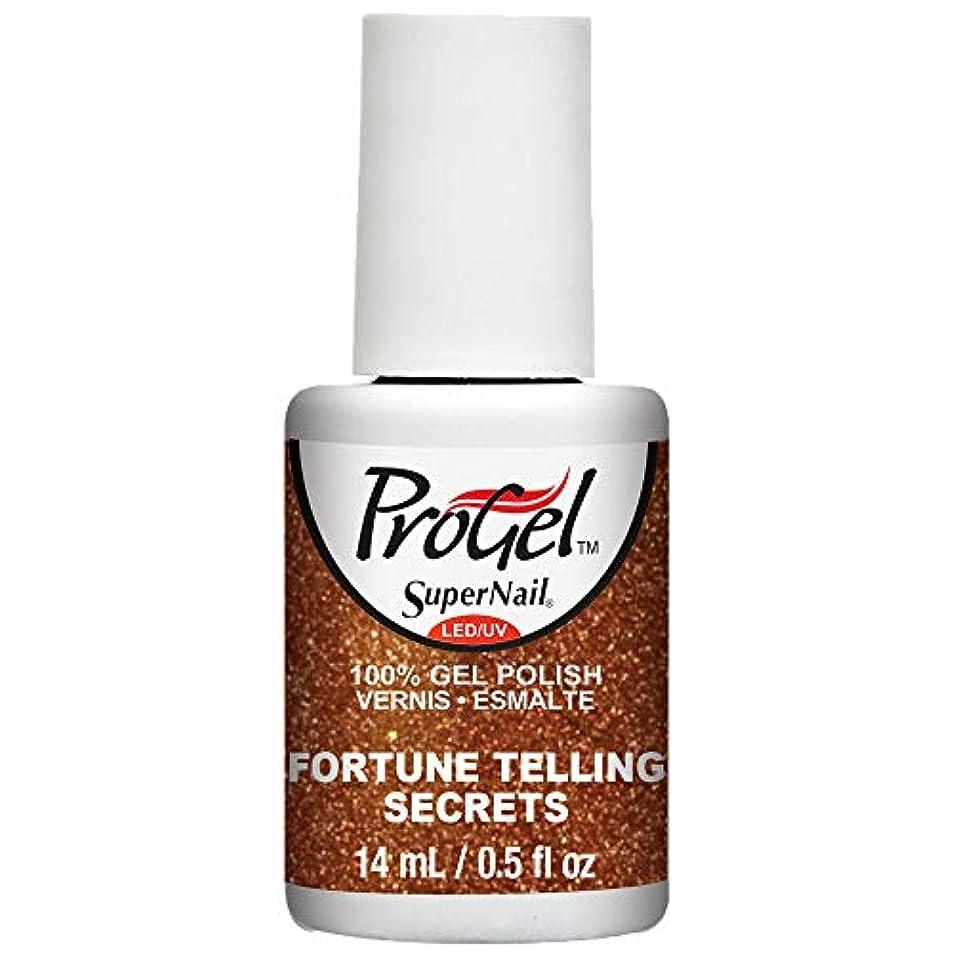 可愛い洞窟先SuperNail ProGel Gel Polish - Fortune Telling Secrets - 0.5oz / 14ml