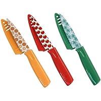 ハンプトンForgeプリント3ピース果物ナイフでブレードガード、hmc01 a589g