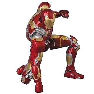 MAFEX マフェックス MAFEX IRON MAN MARK43 『アベンジャーズ/エイジ・オブ・ウルトロン』 ノンスケール ABS&ATBC-PVC製 塗装済み アクションフィギュア