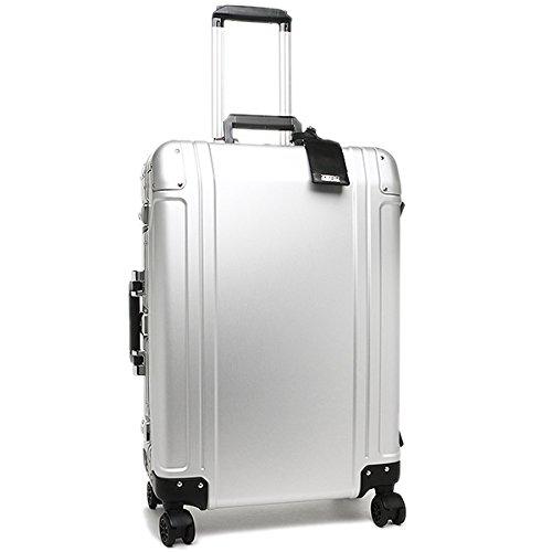 (ゼロハリバートン) ZERO HALLIBURTON バッグ ZRG224-SI 94106-05 24 4 WHEEL SPINNER TRAVEL CASE スーツケース・キャリーバッグ シルバー [並行輸入品]