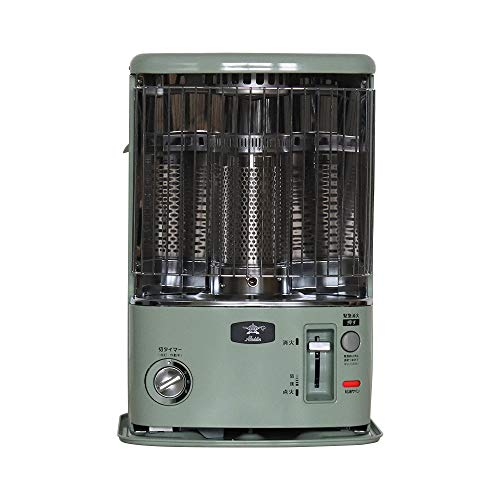 アラジン クラシック 石油ストーブ タイマー付 グリーン (C387-S1)