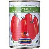 【ケース販売】モンテベッロ 有機ホールトマト400g缶×24個入り トマト缶 オーガニック モンテ物産(株)