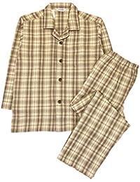 [グンゼ]メンズパジャマ (肩ももW保温) 長袖長パンツ ソフトキルト/発熱ニットガーゼ メンズ
