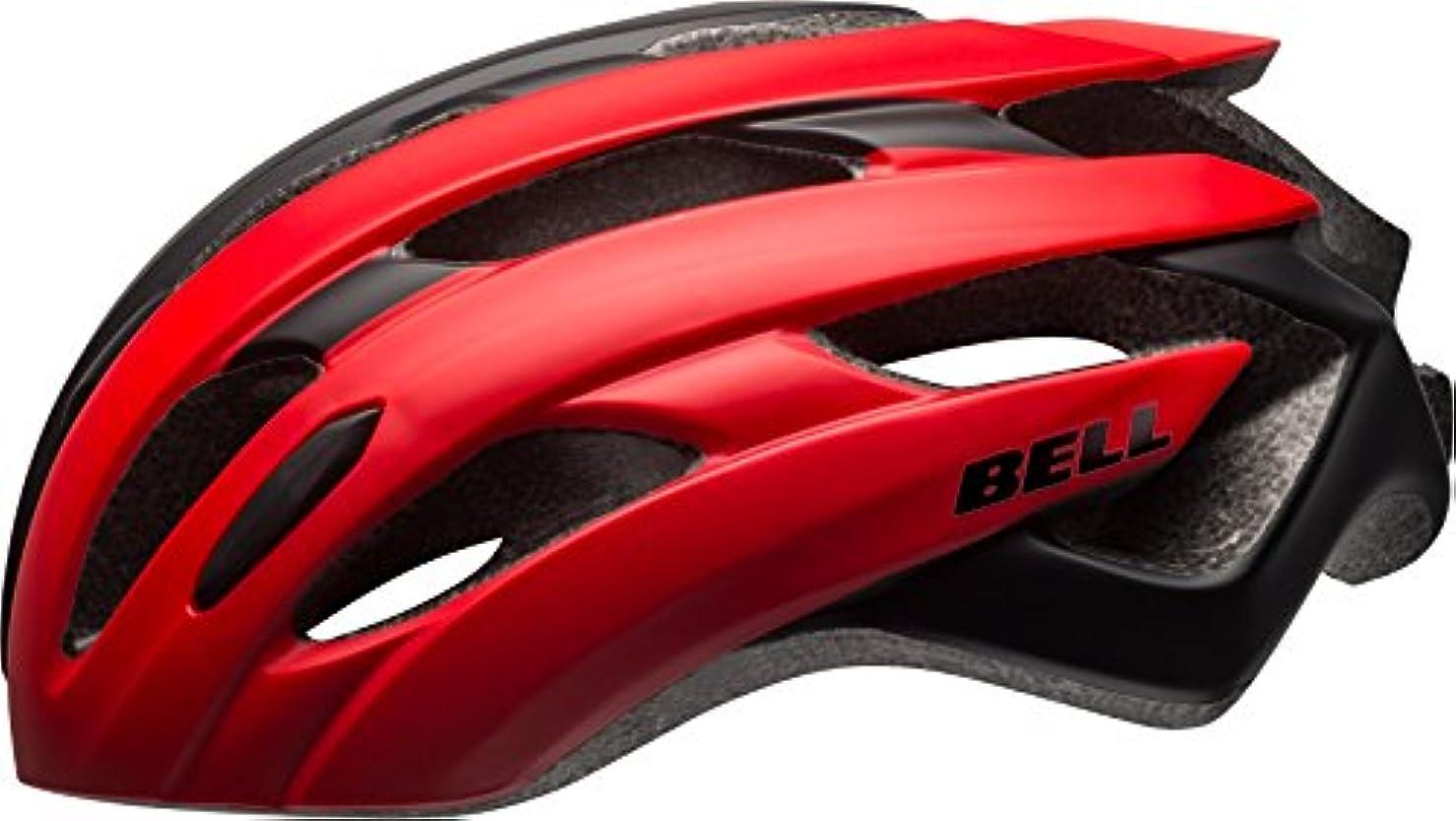 シェルター呼吸担当者BELL(ベル) ヘルメット 自転車 サイクリング JCF ロード EVENT [イベント マットレッド/ブラック M 7079303]