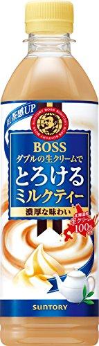 サントリー ボス とろけるミルクティー 500ml 1セット(6本)