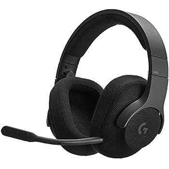 ゲーミングヘッドセット Logicool ロジクール G433BK ブラック Dolby DTS 7.1ch 臨場感 軽量設計 スポーツメッシュ イヤーパッド   PS4/PC/Xbox/Switch/スマホ 国内正規品 2年間メーカー保証
