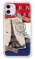 ガールズネオ apple iPhone 11 ケース (フランス◆Bonjour Paris) Apple iPhone11-PC-COM-6012