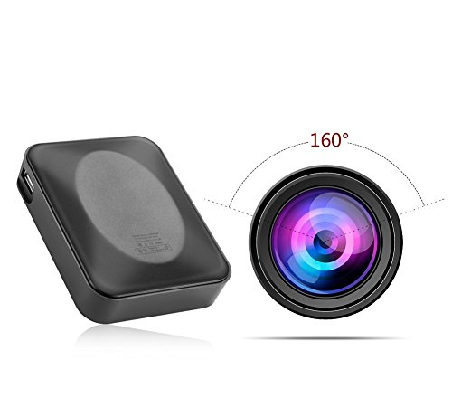 1080P フル モバイルバッテリー型 スパイカメラ 電源型...