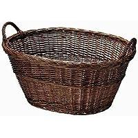 スモーク煮柳バスケット 両ハンドル55cm 41-03BR