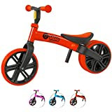 Yvolution Y Velo Junior Toddler Bike | No-Pedal Balance Bike | Ages 18 Months to 4 Years(Red)