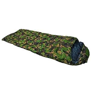 Snugpak(スナグパック) 寝袋 スリーパーゼロ カモ スクウェアフット [最低使用温度-7度]